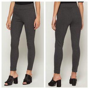 GAP Side Zip Ponte Legging in Charcoal Grey